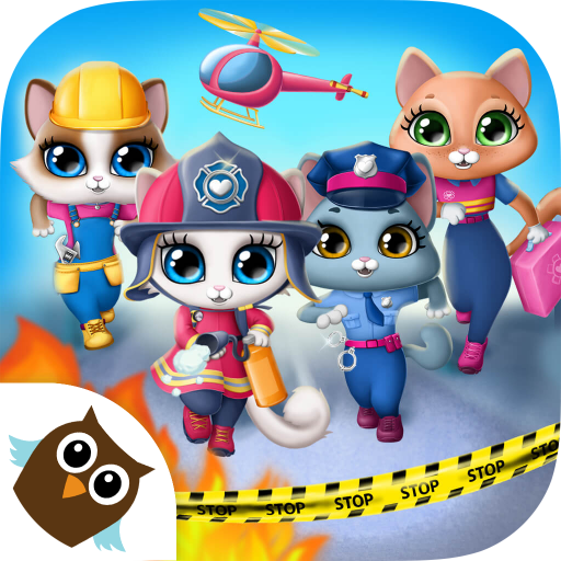 Kitty Meow Meow City Heroes - Cats to the Rescue! (game)