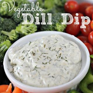 Vegetable Dill Dip