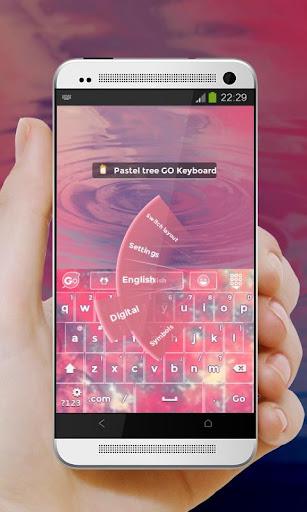 免費下載個人化APP|粉彩树 GO Keyboard app開箱文|APP開箱王