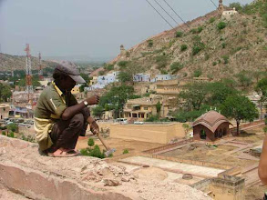 Photo: Jaipur - widok z Fortu Amber