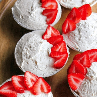 Strawberries And Cream Tartlets