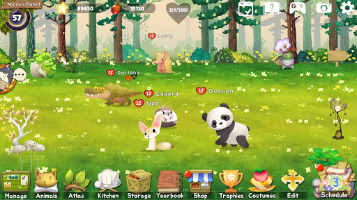 Animal Forest : Fuzzy Seasons 176 APK MOD screenshots 1