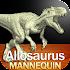 Allosaurus Mannequin