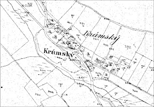 Photo: Pozemkovy katastr Kramske