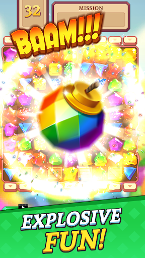 Jewels and Gems Blast: Fun Match 3 Puzzle Game android2mod screenshots 4