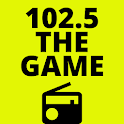 102.5 the game app icon