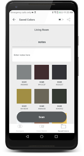 ColorSnap® Match screenshot
