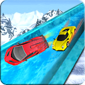 Frozen Water Slide Car Game Android APK Download Free By Interactive Games