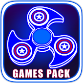 🌀Fidget Spinner Games Pack🌀