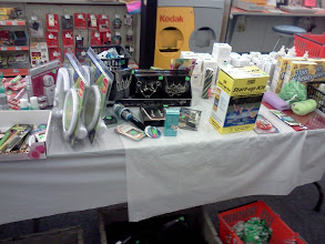 Photo: As I kept walking towards the allergy aisle I came across this table full of discounts. Nothing that I needed though.