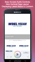 Screenshot of 1150AM WDEL