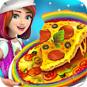 Pizza Maker My Café Cooking Game: Pizza Delivery icon