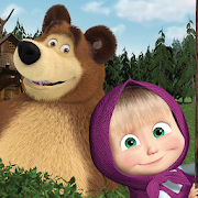 Masha and the Bear. Lernspiele