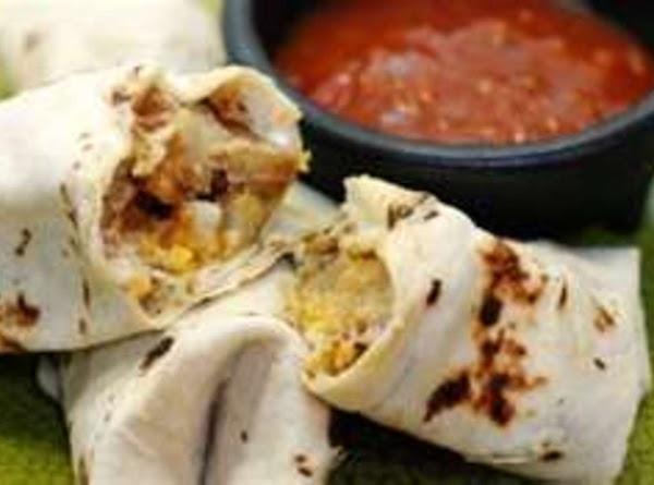 Spash Breakfast Burritos Recipe