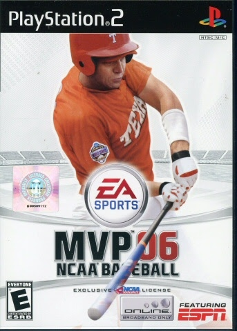 Video game:PlayStation 2 MVP NCAA Baseball 06