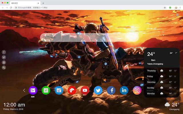 Zelda Top games HD Wallpapers New Tabs Themes