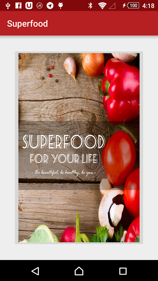 Superfood- screenshot