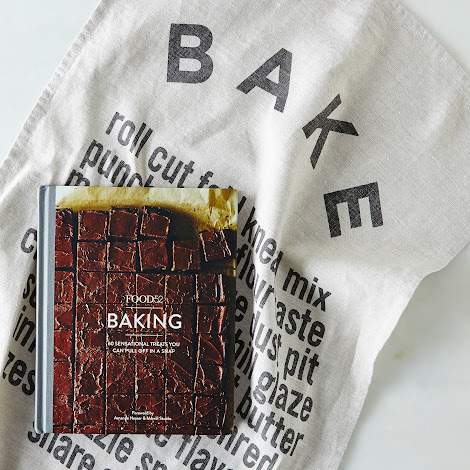 Food52 Signed Baking Cookbook Wrapped in Bake Tea Towel