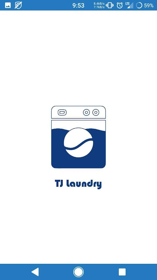 TJ Laundry- screenshot