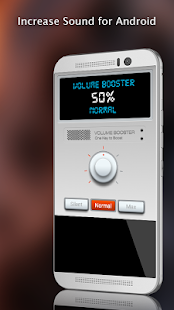 Sound Increaser For Android - náhled