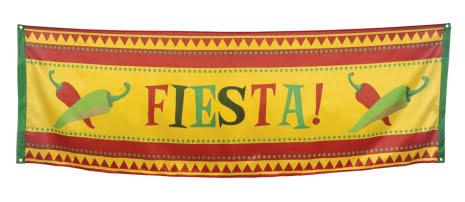 Banner-flagga, fiesta, Mexiko