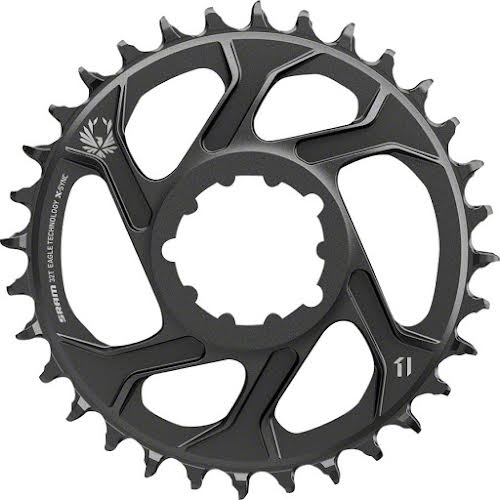 "SRAM X-Sync 2 Eagle Direct Mount Chainring 30T -4mm Offset for 5""Fat Bikes"