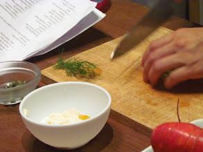 Photo: Tartar sauce for Salmon Cake Sliders