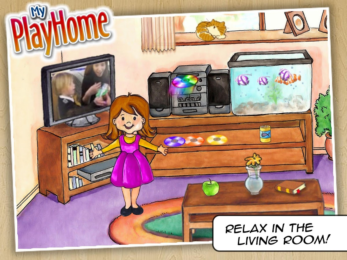 my playhome play home doll house android apps on google play