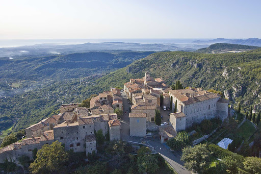 France-Gourdon.jpg - Gourdon is a former feudal village high on a mountaintop near Nice, France.
