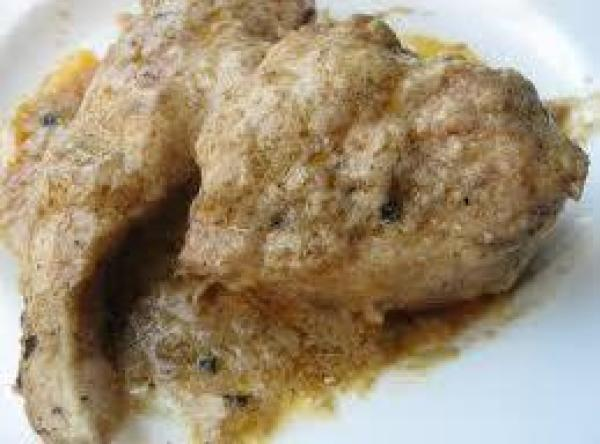 Chicken In Golden Sauce Recipe