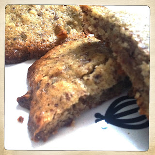 Gluten-Free Almond Meal and Candied Ginger Cookies.