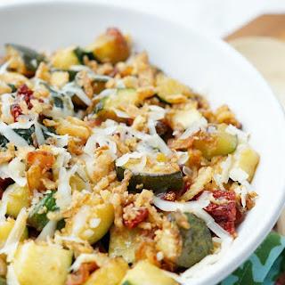 Easy Zucchini Stuffing Casserole.