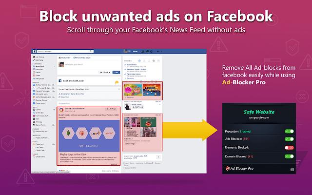 Fake Google Chrome AdBlock Plus extension