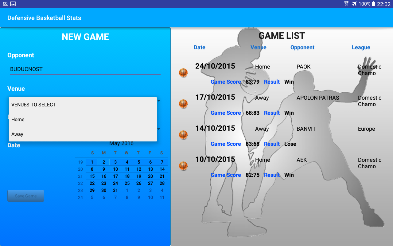 Defensive Basketball Stats- screenshot
