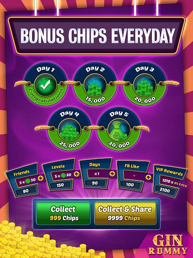 Gin Rummy Online - Multiplayer Card Game 14.1 screenshots 21