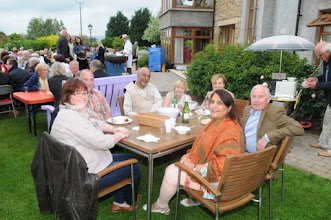 Photo: Some of the guests at our fundraiser.