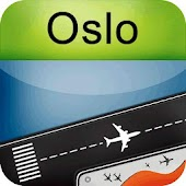 Oslo Airport + Flight Tracker
