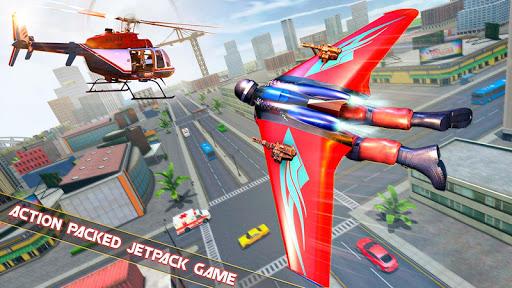 Flying Jetpack Hero Crime 3D Fighter Simulator 1.9 screenshots 1
