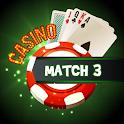 Casino Match 3 Puzzle : best brain matching game icon