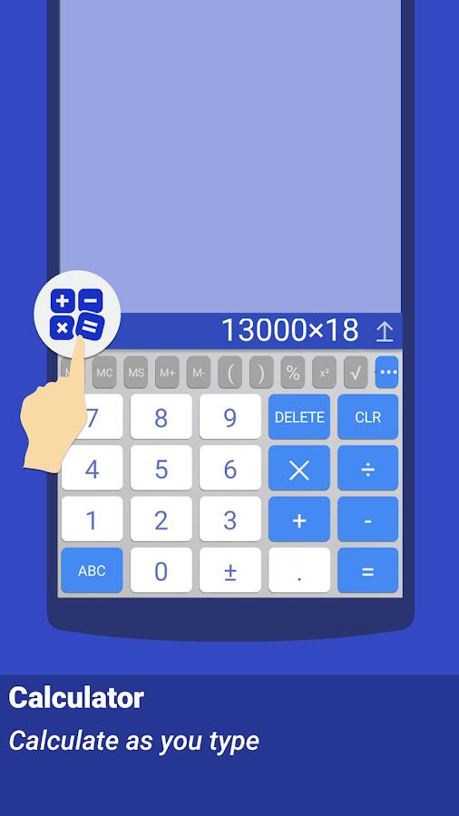 ai.type keyboard Plus + Emoji- screenshot