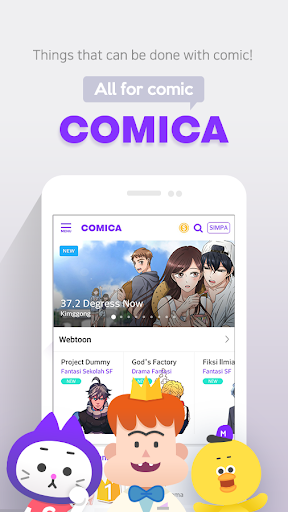 COMICA – Free Webtoon Comic for Android apk 1