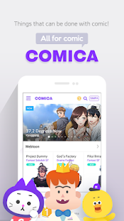 COMICA – Free Webtoon Comic- screenshot thumbnail