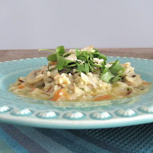 Wild Risotto with Vegetables
