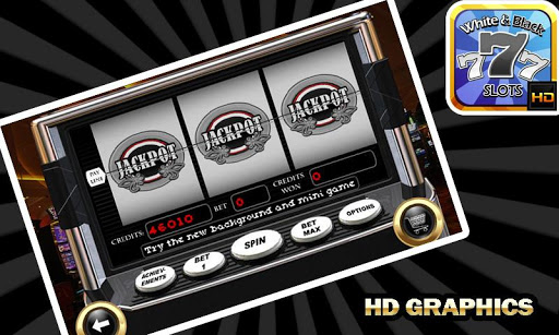 White n Black Slot Machine 1.0.7 screenshots {n} 1