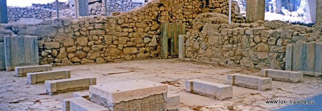 Photo: 1995-07-06. Phaistos.  www.loki-travels.eu