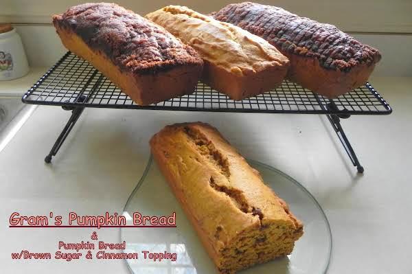 Gram's Pumpkin Bread