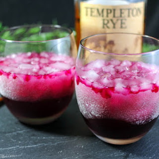 The Red Beet Rye Cocktail.