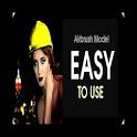 Photo Airbrush Model shop icon