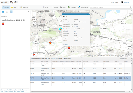 MapIt GIS - GPS Data Collector- screenshot thumbnail