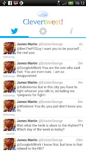 Clevertweet screenshot 2